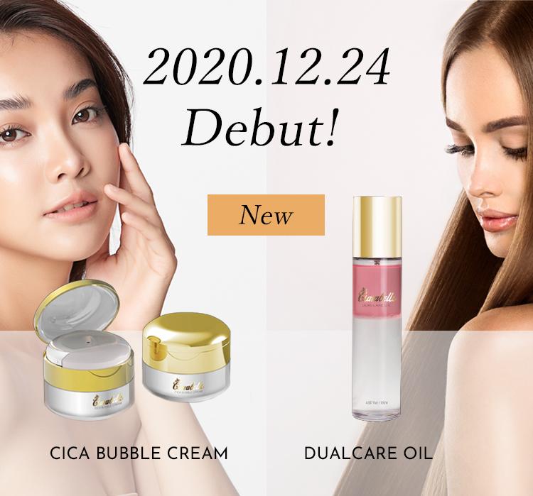 Clarabells CICA BUBBLE CREAM&DUALCARE OIL